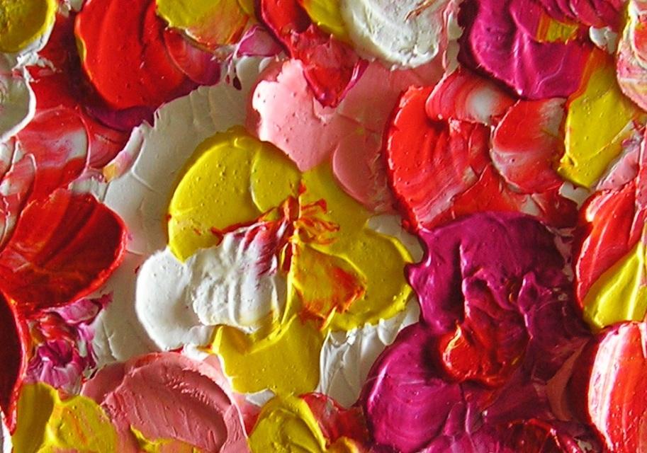 Julia Oil Painting Fliral
